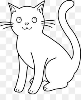 93 Koleksi Gambar Hitam Putih Kucing HD