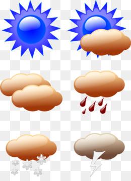 Prakiraan cuaca Clip art - simbol cuaca unduh gratis - 386*208,115.92 KB gambar png