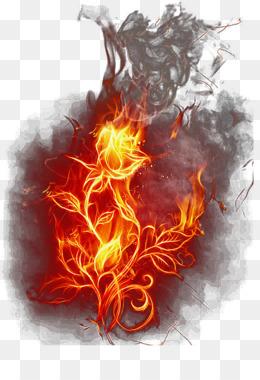 Api-efek Unduh Gratis - PicsArt Photo Studio-Download Image Editing - Merah  Segar Efek Api Elemen Gambar Png