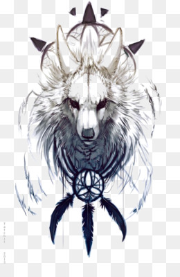 kisspng iphone 6 plus dreamcatcher high definition televis white wolf 5a7abfa8ca4d53.6905882415179938968286