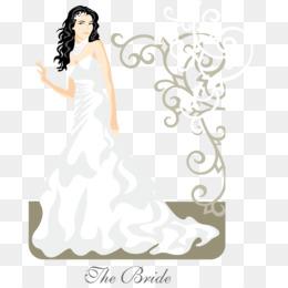pengantin vektor unduh gratis gaun pengantin pernikahan pengantin yang indah vektor gambar png pengantin yang indah vektor gambar png