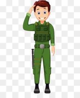 89 Gambar Gambar Kartun Tentara Hormat Terbaik