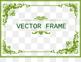bingkai bunga unduh gratis template green coreldraw bingkai hijau gambar png bingkai bunga unduh gratis template
