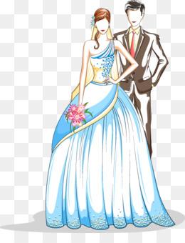 Pengantin Vektor Unduh Gratis Gaun Pengantin Pernikahan