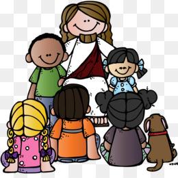 Ilustrasi Alkitab Anak - Vektor Yesus membaca Alkitab dan ...
