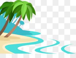 Pantai Berpasir Kartun Pasir Gambar Png