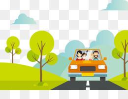 Travel Vektor Unduh Gratis Kartun Liburan Keluarga Ilustrasi Keluarga Travel Vektor Gambar Png