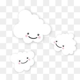 800 Gambar Awan Putih Kartun HD Terbaik