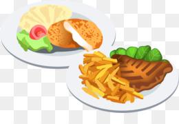 Makanan Vektor Unduh Gratis Makanan Cepat Saji Hidangan Clip Art
