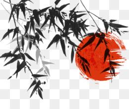 vektor bambu unduh gratis bambu tinta mencuci lukisan hitam dan putih tinta sikat vektor bambu gambar png vektor bambu gambar png
