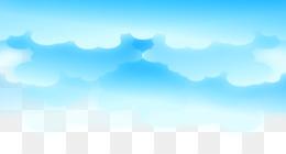 Biru Kartun Unduh Gratis - Langit Energi Wallpaper - Kartun Biru Awan Awan  Segar Gambar Png