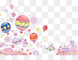 kisspng cartoon mural wallpaper cute pink 5aa763df4de173.159093191520919519319