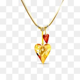 Emas, Jantung, Energi Sihir gambar png