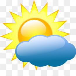 Simbol Cuaca Unduh Gratis Peta Cuaca Konten Gratis Clip Art Cuaca Simbol Matahari Dengan Awan Gambar Png