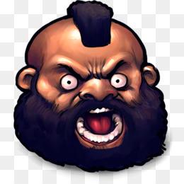 Zangief Unduh Gratis Kepala Wajah Clip Art Street Fighter