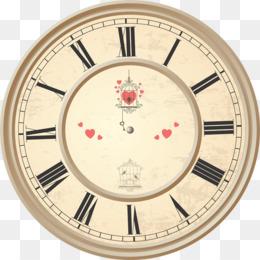 Jam Dinding Unduh Gratis - Jam Angka Romawi Wajah Royalty-free Alarm Clock  - Jam Dinding Gambar Png