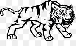 80 Gambar Singa Keren Hitam Putih HD