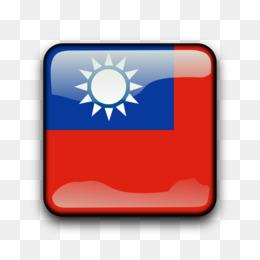Bendera Republik Tiongkok Bendera Taiwan Gambar Png