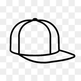 Gambar Topi Baseball Buku Mewarnai Gambar Png