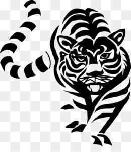 Harimau Putih Unduh Gratis Macan Putih Simbol Hewan Logo Harimau Putih Gambar Png