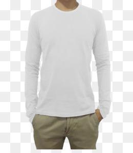 Kaos Polos Unduh Gratis Lengan Panjang T Shirt Hoodie Pakaian Kaos Polos Gambar Png