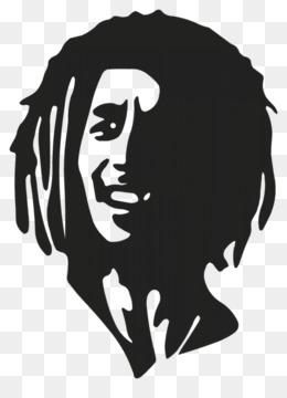 Bob Marley Kumis Kartun Gambar Png