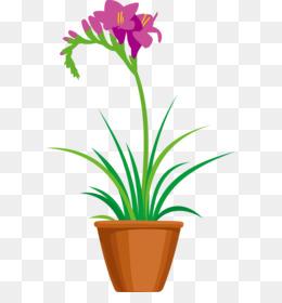 Gambar Kartun Bunga Dalam Pot Gambar Terbaru Hd