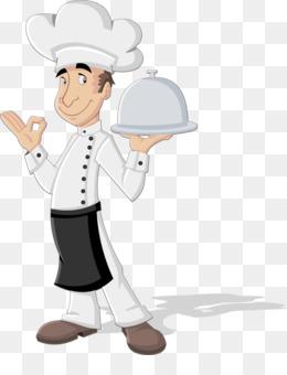 Koki Restoran Kartun Grafis Vektor Gambar Kartun Chef