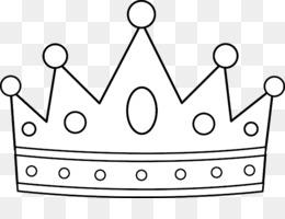 Mahkota Tiara Buku Mewarnai Gambar Png