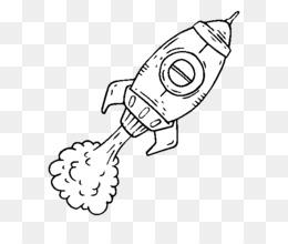 Buku Mewarnai Gambar Roket Gambar Png