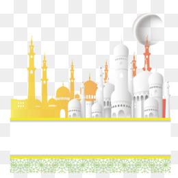 92 Gambar Gambar Masjid Idul Fitri Kartun Paling Keren