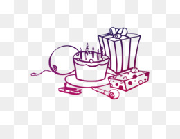 Kue Ulang Tahun Buku Mewarnai Kue Gambar Png