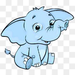 800 Gambar Gajah Kartun Png Gratis Infobaru