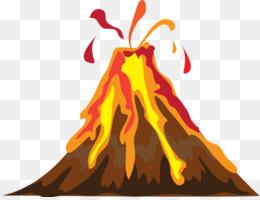 300 Gambar Bencana Alam Gunung Meletus Kartun HD Terbaru